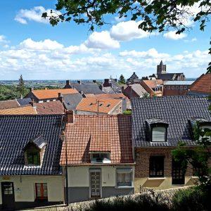 Panorama sur la plaine Flamande