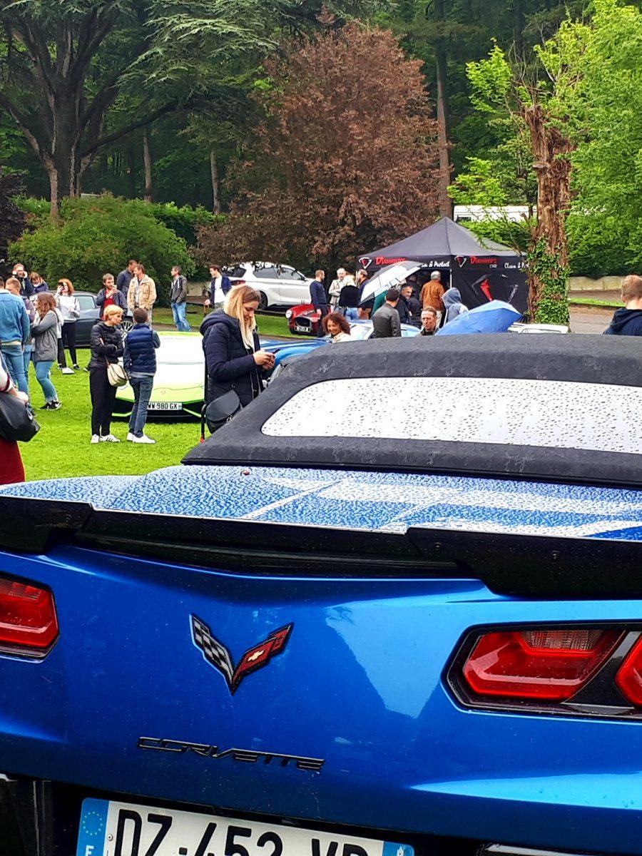 Exposition de voiture de prestige