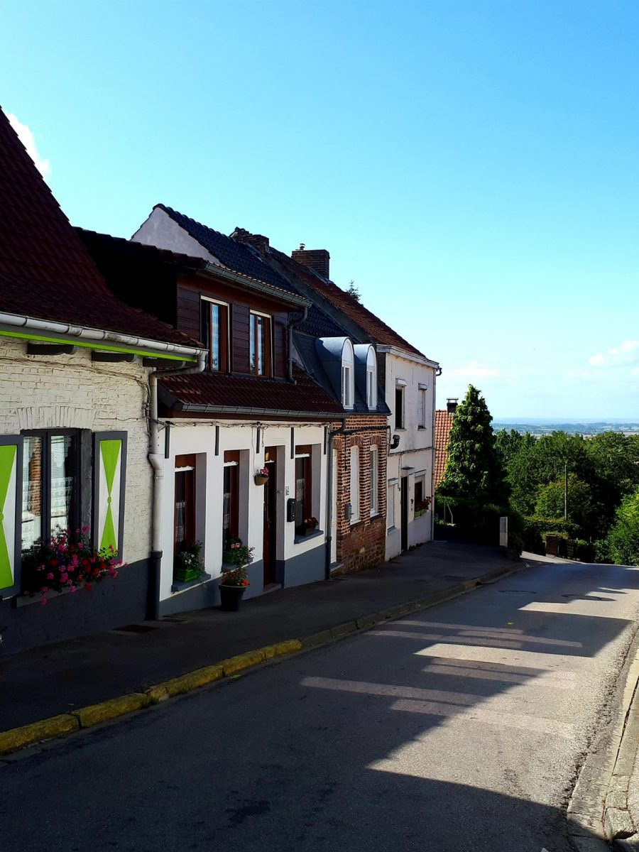 Rue d'Aire à Cassel